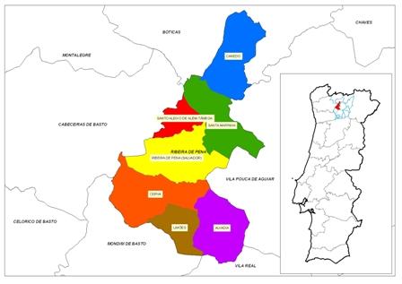ribeira de pena mapa Câmara Municipal de Ribeira de Pena ribeira de pena mapa
